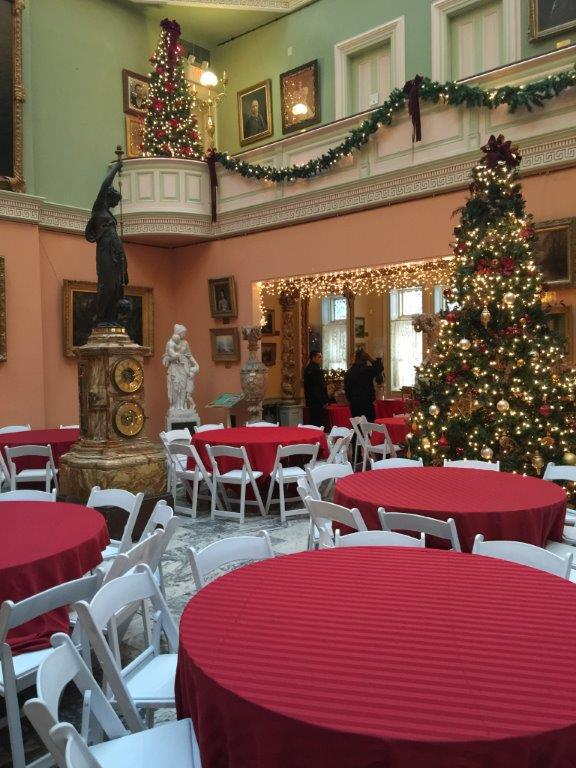 ... Party Lambert Castle at Christmas ...