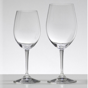 Riedel 12 & 19 Oz Crystal Wine Glasses