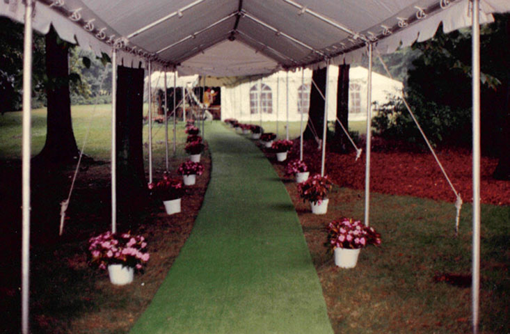 Custom designed walkways for any event