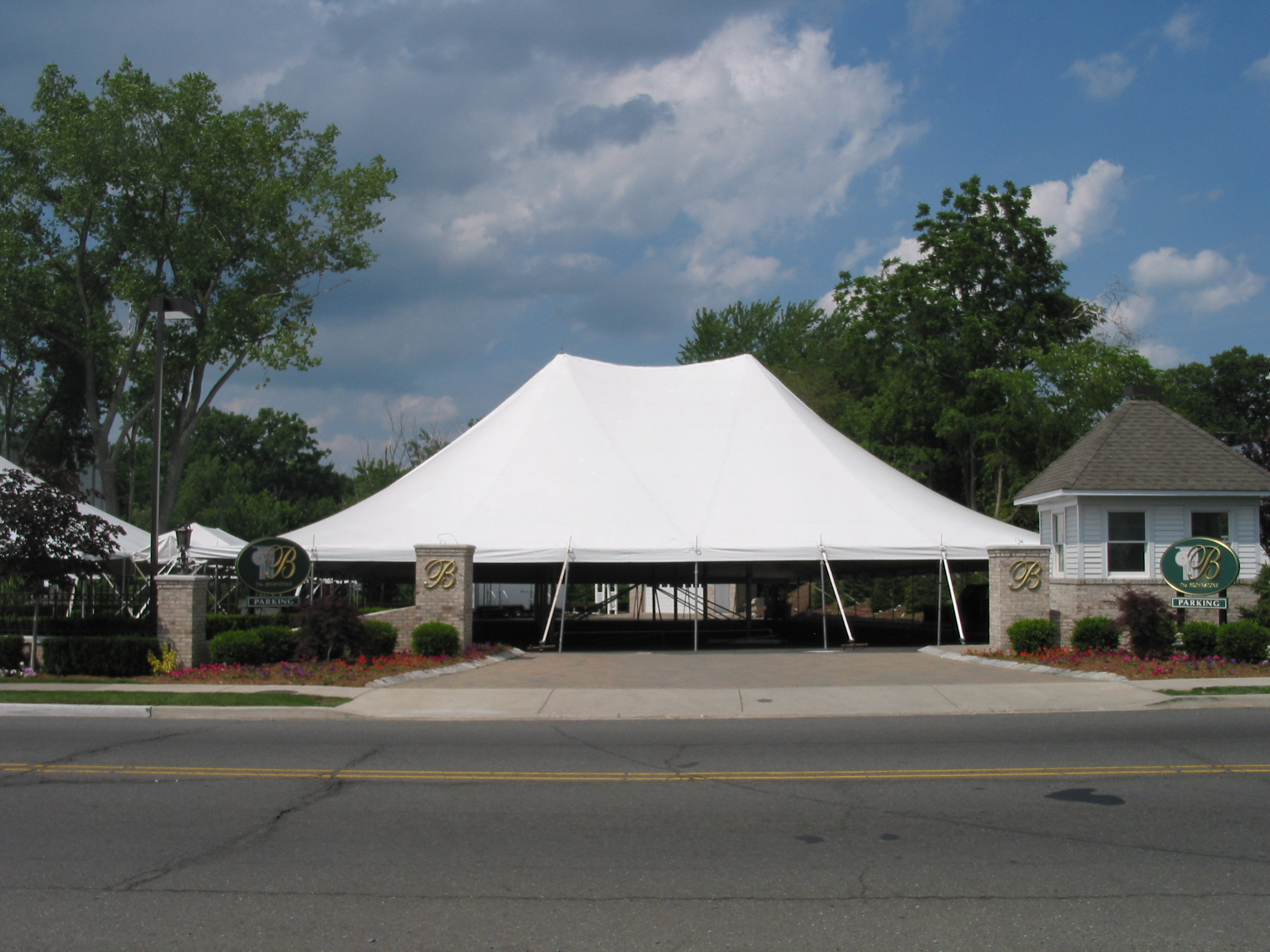 Tents For Fundraiser