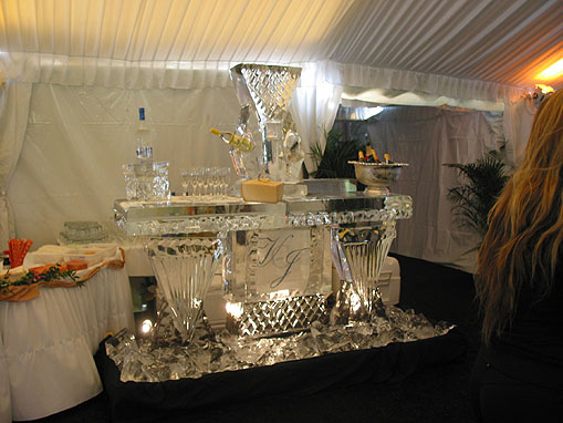 6' Ice Sculpture Bar