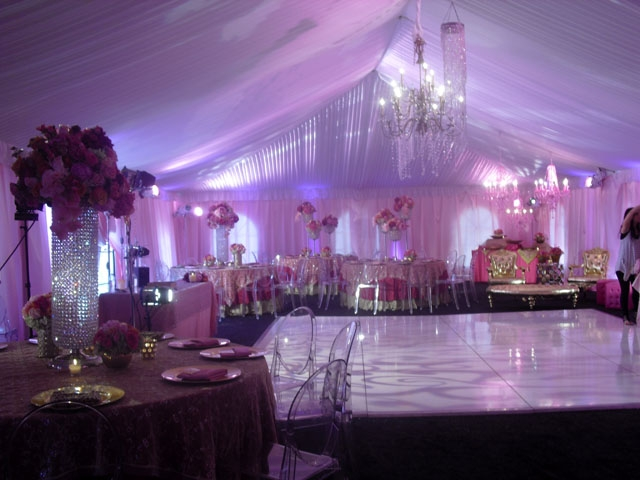 A Beautiful Pink Wedding
