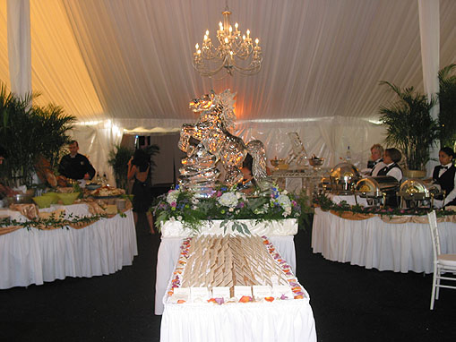 Elaborate Wedding Buffet