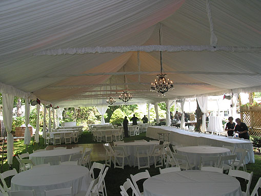 White wedding in 30x80