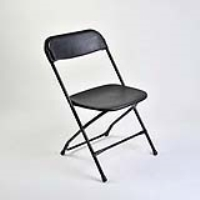 Rental store for CHAIR-BLACK PLASTIC in Hillsdale NJ