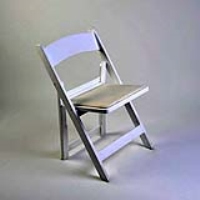 Rental store for CHAIR-MOLDED WHITE  PADDED SEAT in Hillsdale NJ