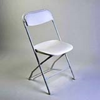 Rental store for CHAIR-WHITE PLASTIC in Hillsdale NJ