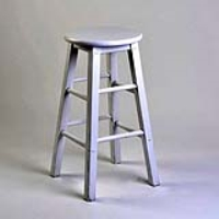 Rental store for BAR STOOL - WHITE WOOD in Hillsdale NJ