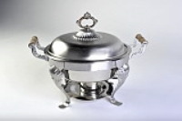 Rental store for CHAFING DISH - 5QT ROUND QUEEN ANNE in Hillsdale NJ