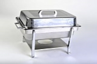 Rental store for CHAFING DISH - 4QT STAINLESS in Hillsdale NJ