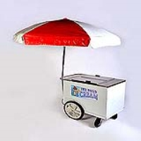 Rental store for ICE CREAM CART-WITH UMBRELLA in Hillsdale NJ