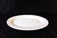 Rental store for OVAL WHITE PLATTER 12 X9 in Hillsdale NJ