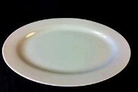 Rental store for OVAL WHITE PLATTER 22 x15 in Hillsdale NJ