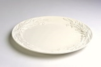 Rental store for OVAL WHITE  WHEAT  PLATTER 20 x16 in Hillsdale NJ