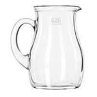 Rental store for MILK PITCHER - GLASS 16 OZ. in Hillsdale NJ