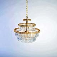 Rental store for CHANDELIER - LARGE BRASS in Hillsdale NJ