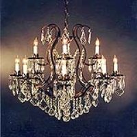 Rental store for CHANDELIER - VERSAILLES 12 LIGHT 28 in Hillsdale NJ