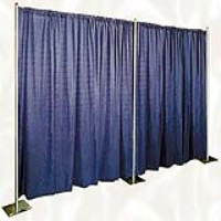 Rental store for PIPE AND DRAPE-12  ROYAL BLUE PER FT in Hillsdale NJ