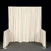 Rental store for PIPE AND DRAPE   8  HIGH IVORY PER FT in Hillsdale NJ