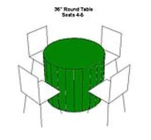Where to rent TABLE-36  ROUND LOW FOR SEATING in Ridgewood New Jersey, Hillsdale, Franklin Lakes NJ, and the New Jersey, New York metropolitan areas