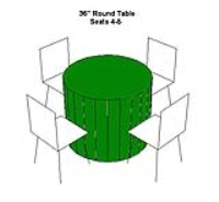 Rental store for TABLE-36  ROUND LOW FOR SEATING in Hillsdale NJ