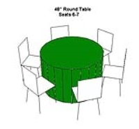 Rental store for TABLE-48  ROUND in Hillsdale NJ