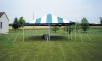 Used Equipment Sales CANOPY-BLUE WHITE  20  X 20 in Hillsdale NJ
