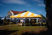 Used Equipment Sales CANOPY-YELLOW WHITE 20  X 20 in Hillsdale NJ