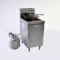 Rental store for DEEP FRYER W 20 LB PROPANE TANK in Hillsdale NJ