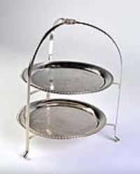 Rental store for TRAY CADDY-SILVER 2 TIER in Hillsdale NJ