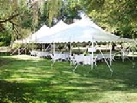 Rental store for 30   WIDE HIGH PEAK POLE TENTS in Hillsdale NJ