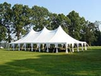 Rental store for 40   WIDE HIGH PEAK POLE TENTS in Hillsdale NJ