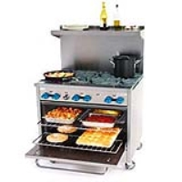 Rental store for COMMERCIAL OVEN-6 BURNER RANGE in Hillsdale NJ