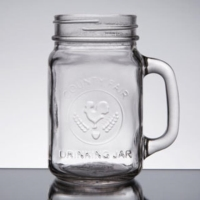 Rental store for GLASS- MASON JAR 16 OZ in Hillsdale NJ