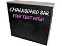 Rental store for CHALKBOARD BAR - 6  PORTABLE in Hillsdale NJ