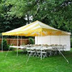 20X20 CANOPY PACKAGE SEATS 40 Rentals Hillsdale NJ, Where to Rent