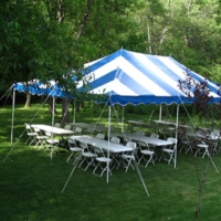 Rental store for 20X30 CANOPY PACKAGE-SEATS 60 in Hillsdale NJ
