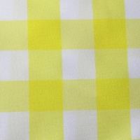 Rental store for YELLOW CHECK TABLE LINEN in Hillsdale NJ