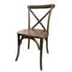 Where to rent CHAIR-RUSTIC CROSSBACK-NO CUSHION in Ridgewood New Jersey, Hillsdale, Franklin Lakes NJ, and the New Jersey, New York metropolitan areas